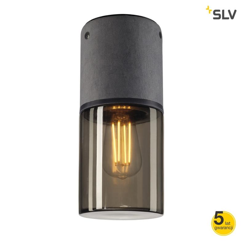 Lampy-ogrodowe-wiszace - lampa sufitowa okrągła zewnętrzna e27 23w ip44 lisenne-o 231361 spotline firmy SPOTLINE
