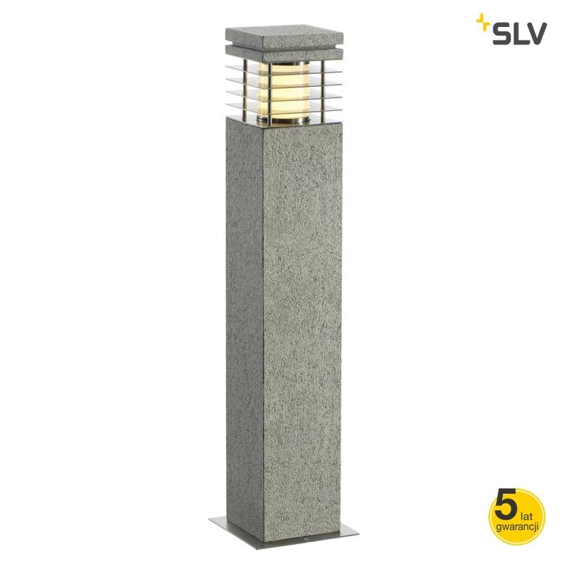 Slupki-ogrodowe - lampa stojąca do ogrodu granitowa e27 70cm 15w ip44 arrock granite 70 231411 spotline firmy SPOTLINE
