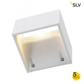 Biała lampa ścienna LED...