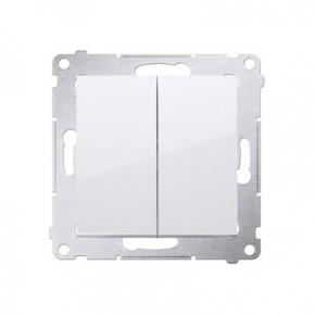 Włącznik świecznikowy biały do wersji IP44 DW5B.01/11 Simon 54 Kontakt-Simon