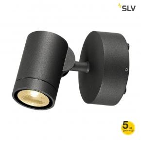 Czarny kinkiet LED o mocy...