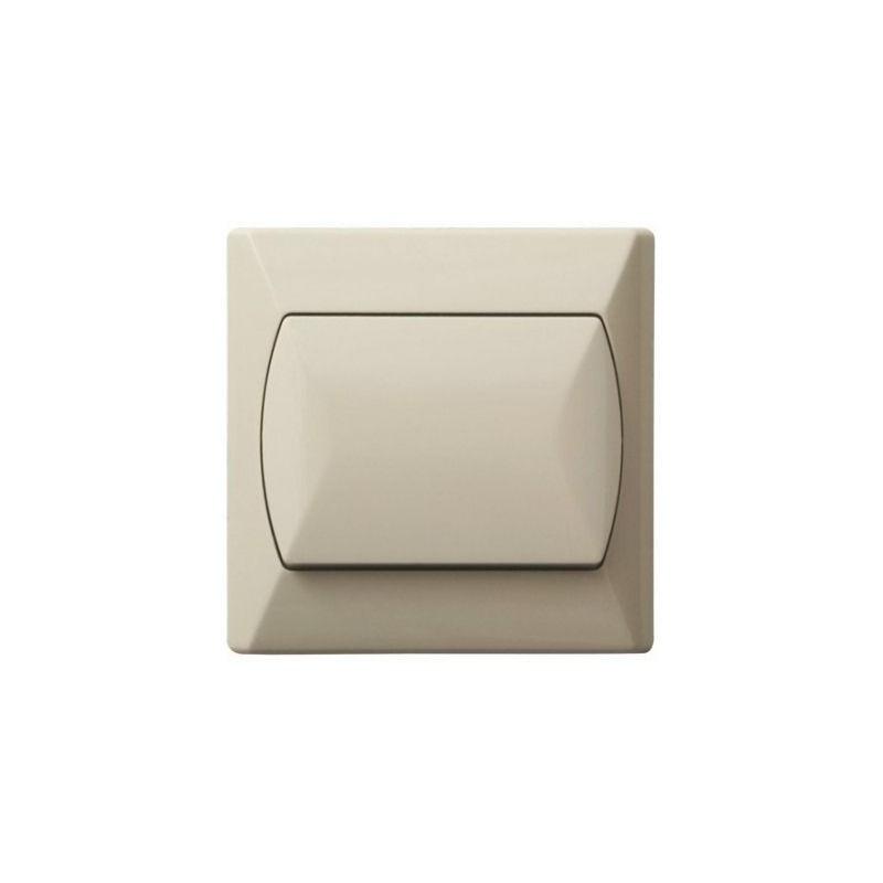 Wylaczniki-jednobiegunowe - włącznik jednobiegunowy beżowy łp-1a/01 akcent ospel firmy OSPEL
