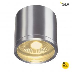 Lampy-ogrodowe-wiszace - zewnętrzna oprawa sufitowa tuba rox ceiling out alu szczotkowane es1 spotline