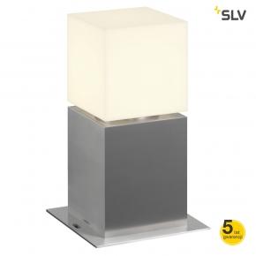 Lampy-ogrodowe-stojace - lampa ogrodowa słupek 30cm square pole 316 stal szlachetna spotline