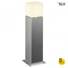 Slupki-ogrodowe - lampa stojąca zewnętrzna square pole 316 stal szlachetna 60cm spotline