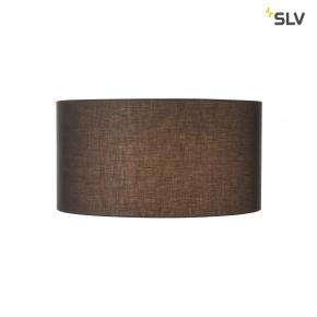 Oswietlenie - czarny materiałowy klosz fenda 70cm spotline