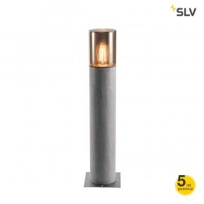 Slupki-ogrodowe - lampa słupek ogrodowy lisenne pole 70 e27 szara ip54 spotline