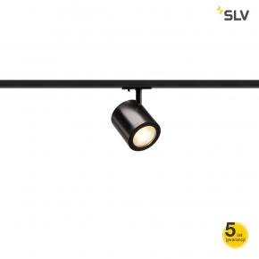 Oswietlenie-szynowe - oprawa do zamontowania na szynie 1f enola_c led 3000k czarna 55° adapter 1f spotline