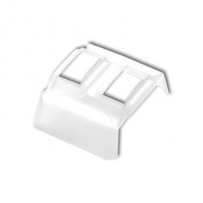 Osprzet-produkty-uzupelniajace - biały uszczelniacz do włączników hermetyczny u-1 deco karlik