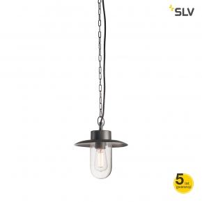 Lampy-ogrodowe-wiszace - wisząca lampa ogrodowa molat e27 antracyt max 60w ip44 spotline