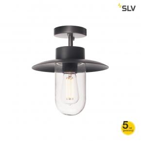 Lampy-ogrodowe-wiszace - lampa sufitowa molat e27 antracyt max 60w ip44 spotline