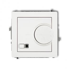 Regulatory-temperatury - biały regulator temperatury z czujnikiem podpodłogowym drt-1 deco karlik