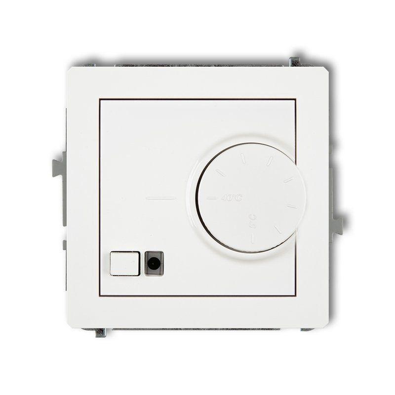 Regulatory-temperatury - biały regulator temperatury z czujnikiem podpodłogowym drt-1 deco karlik firmy Karlik