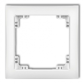 Ramki-pojedyncze - pojedyncza biała ramka drso-1 deco soft karlik