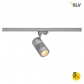 Oswietlenie-szynowe - lampa szynowa 3f structec led 24w okrągła srebrno szara 3000k 60° spotline