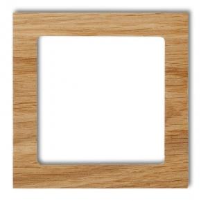 Ramki-pojedyncze - pojedyncza ramka z drewna (dąb) drd-1 deco karlik