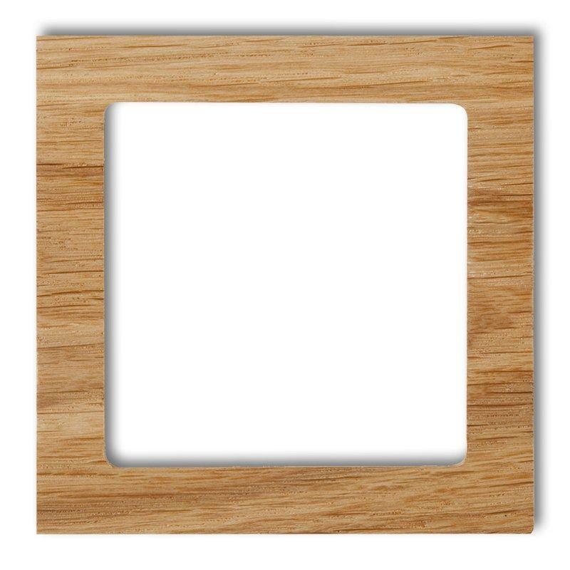 Ramki-pojedyncze - pojedyncza ramka z drewna (dąb) drd-1 deco karlik firmy Karlik
