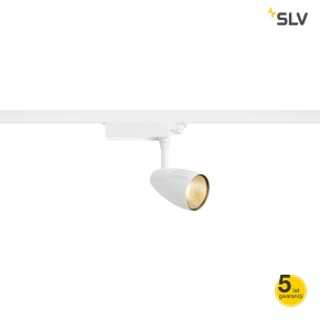 Oswietlenie-szynowe - biała lampa szynowa led 3f spot t 3000k spotline