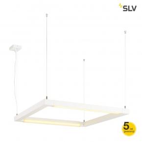 Lampy-sufitowe - lampa wisząca sufitowa 2 obrotowe źródła 54w 3000k 4500lm 200cm open grill led 1001296 spotline
