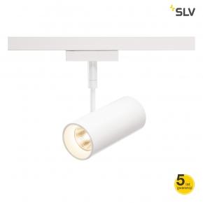 Oswietlenie-sufitowe - dekoracyjna biała oprawa na szynie revilo led 2f 2700k 36° spotline