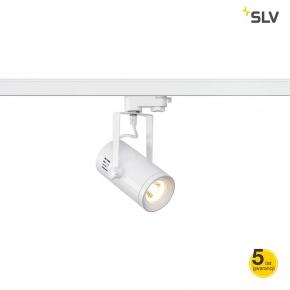 Oswietlenie-szynowe - biała oprawa szynowa 3f euro spot led 9w cob led 36° 3000k spotline
