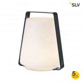 Lampy-ogrodowe-stojace - lampka stojąca tarasowa z ciepłym światłem 3,2w na baterie ip44 3000k degano 18 1001414 spotline