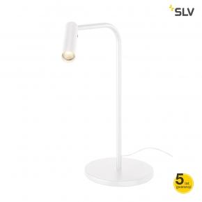 Lampki-biurkowe - lampka na biurko karpo biała spotline