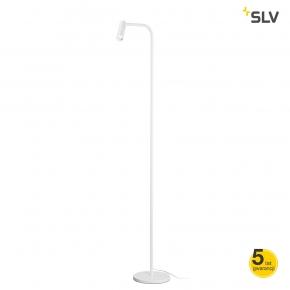 Lampy-stojace - stojąca lampa podłogowa biała karpo spotline