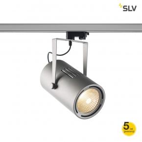 Oswietlenie-sufitowe - oświetlenie na szynie euro spot track 3f 5500lm 3000k 38° srebrny spotline