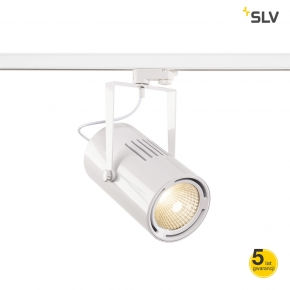 Oswietlenie-szynowe - oprawa szynowa 3-fazowa biała 61w 3000k 5500lm euro spot 1001482 spotline