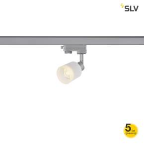Oswietlenie-szynowe - mała oprawa szynowa srebrna 3f puri track spotline