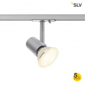Oswietlenie-szynowe - oświetlenie szynowe 1f srebrne spot track spotline