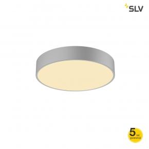 Plafony - lampa sufitowa ściemnialna medo led 40 3000k-4000k triac srebrno szara spotline