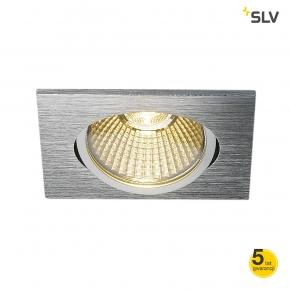 Oprawy-sufitowe - kwadratowa oprawa aluminiowa wpuszczana new tria 68 led spotline