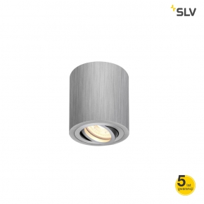 Oprawy-sufitowe - oprawa sufitowa okrągła aluminium szczotkowane 10w gu10 triledo 1002012 spotline