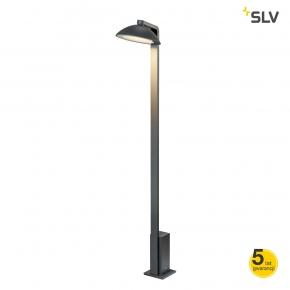 Lampy-ogrodowe-stojace - lampa stojąca ogrodowa led antracyt 9,2w 3000k ip55 malu 1002158 spotline