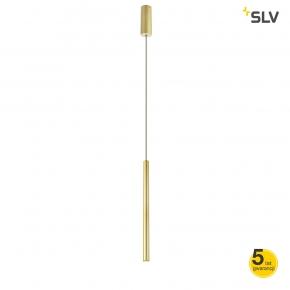 Lampy-sufitowe - lampa wisząca mosiężna 10w 3000k 550lm helia 30 led 1002172 spotline