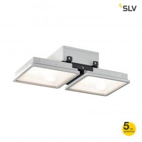 Lampy-sufitowe - lampa wisząca przemysłowa szara 95w 4000k 12000lm almino double 1002193 spotline