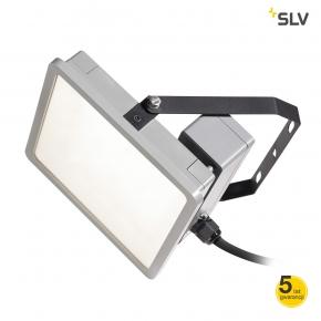 Naswietlacze-led - naświetlacz led przemysłowy lampa ścienna szara 45w 4000k almino 1002195 spotline