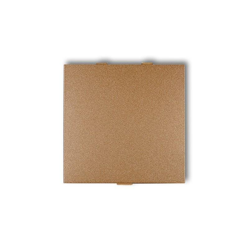Zaslepki - złota metaliczna zaślepka do ramki 8dza deco karlik firmy Karlik