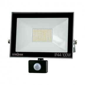 Naswietlacze-z-czujnikiem-ruchu - naświetlacz led 100w z czujnikiem ruchu 8000lm ip65 4500k neutralny struhm 03608 kroma led
