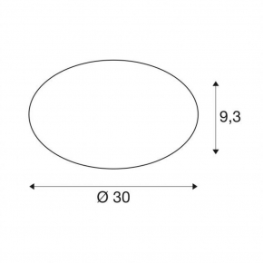 Plafony - plafoniera o mocy 15w okrągła 3000/4000k 30cm lipsy 30 1002020 spotline