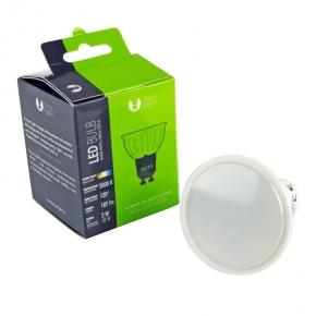 Gwint-trzonek-gu10 - żarówka led biała ciepła 3000k 2w-20w led bulb forever light
