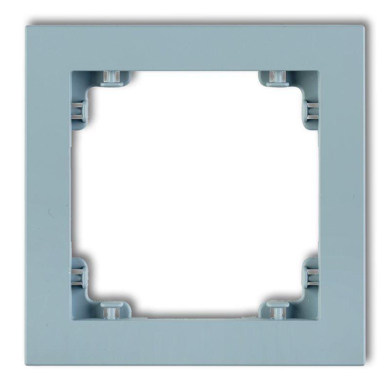 Ramki-pojedyncze - lazurowa ramka pojedyncza 48dr-1 deco pastel matt karlik firmy Karlik