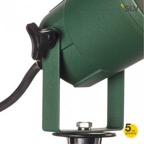 Lampy-ogrodowe-stojace - zielony reflektor ogrodowy wbijany nautilus spike 15 1001965 spotline