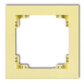 Ramki-pojedyncze - pojedyncza ramka kanarkowa 43dr-1 deco pastel matt karlik