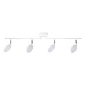 Oswietlenie-sufitowe - lampa sufitowa led biała capri 10224b 4*5w polux