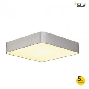 Lampy-sufitowe - plafon oraz wisząca lampa sufitowa srebrnoszary kwadrat medo 60 square sufitowa 4xt5 24w spotline