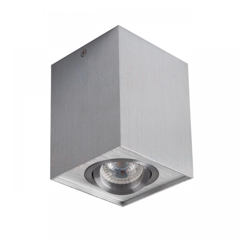 Oprawy-sufitowe-ruchome - oprawa sufitowa dlp-50-al gord gu10 n/t ip20 aluminium kanlux firmy KANLUX