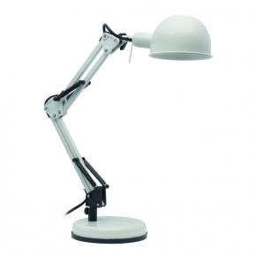Lampki-biurkowe - lampka biurkowa led w kolorze białym e14 40w pixa kt-40-w kanlux